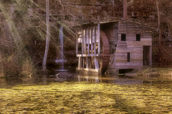 Photograph - Falling Spring Mill - Missouri - Mark Twain National Forest by Jason Politte