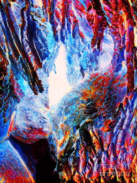 Wall Art - Photograph - Falling Through Fire by Jamie Lynn