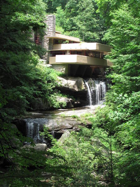 Pittsburgh Photograph - Falling Water by Nancy Keeling