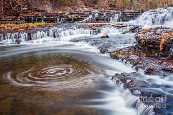 Wall Art - Photograph - Falling Water River Cascade by Anthony Heflin