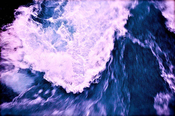 Photograph - Falls Abstract by HweeYen Ong