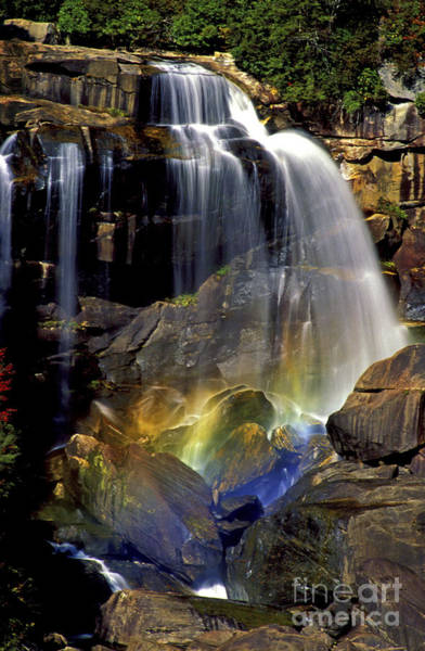 Whitewater Falls Photograph - Falls And Rainbow by Paul W Faust -  Impressions of Light