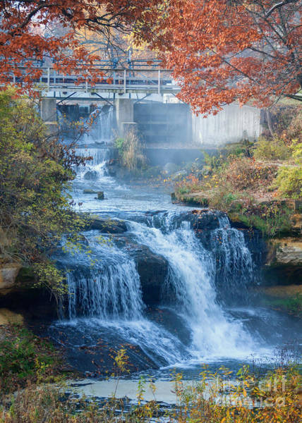 Photograph - Falls At Pickwick Mill by Kari Yearous