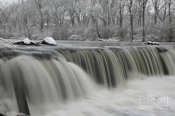 Photograph - Falls In Winter by Timothy Johnson