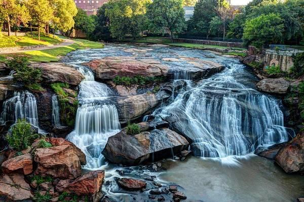 Photograph - Falls Park On The Reedy River by Carol Montoya