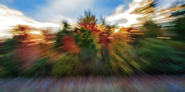 Photograph - Falls Rush by Michael Hubley