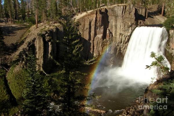 Photograph - Falls Under The Rainbow by Adam Jewell