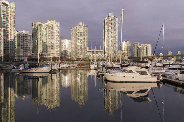 Photograph - False Creek At Yaletown by Ross G Strachan