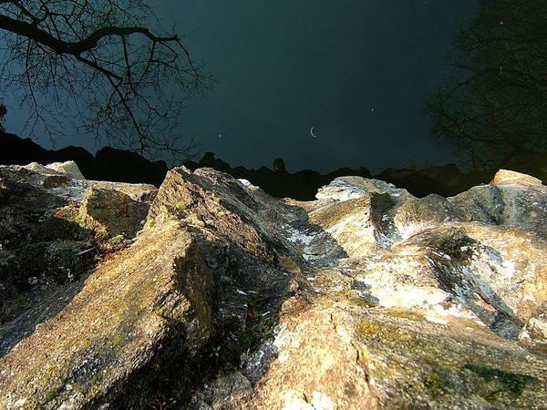 Photograph - False Earth False Moon by Marc Philippe Joly