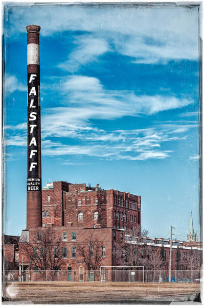 Photograph - Falstaff Brewery by Robert FERD Frank