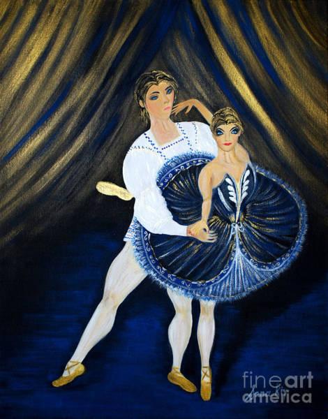 Painting - Fame And Charming by Oksana Semenchenko