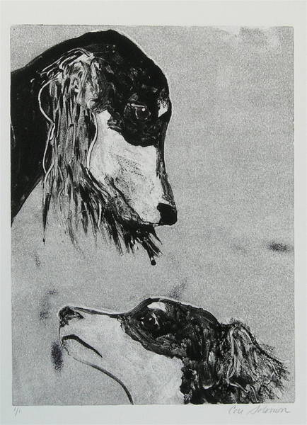 Sighthound Mixed Media - Family Affair by Cori Solomon