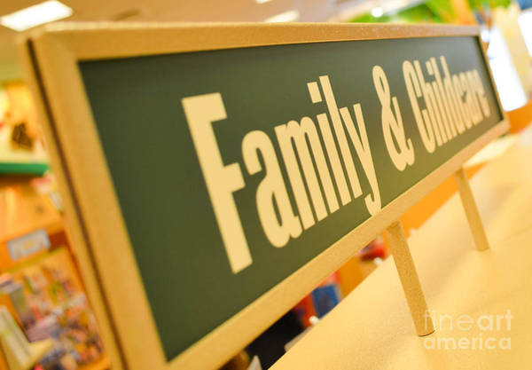 Photograph - Family And Childcare by Andrea Anderegg