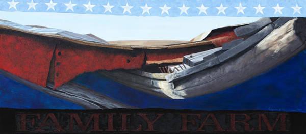 Painting - Family Farm by Lynn Hansen