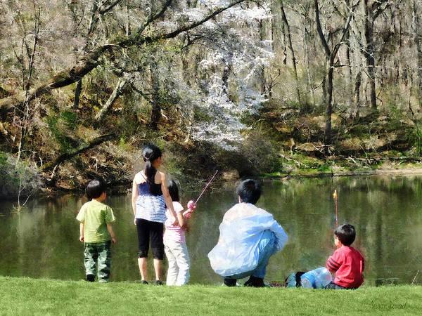 Photograph - Family Fishing by Susan Savad