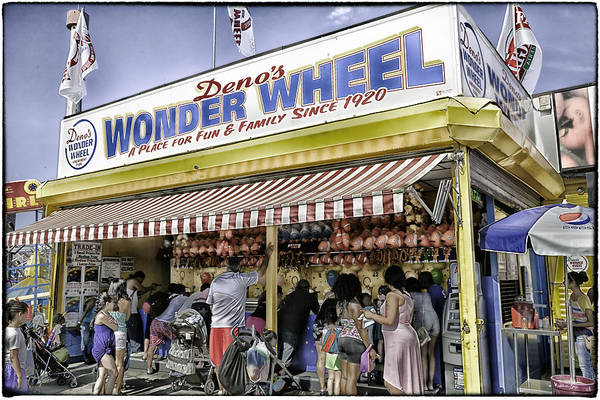 Wall Art - Photograph - Family Fun - Coney Island - Brooklyn - New York by Madeline Ellis