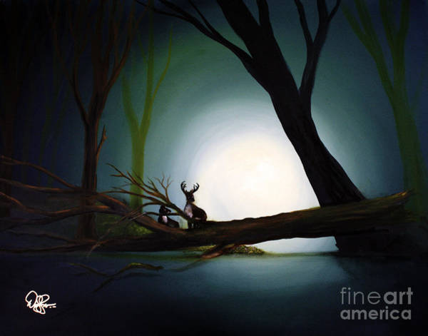 Special Offer Painting - Family In The Forest by David Kacey
