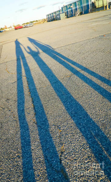 Photograph - Family Shadow by Andrea Anderegg