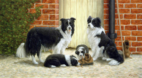 Painting - Family Ties by John Silver