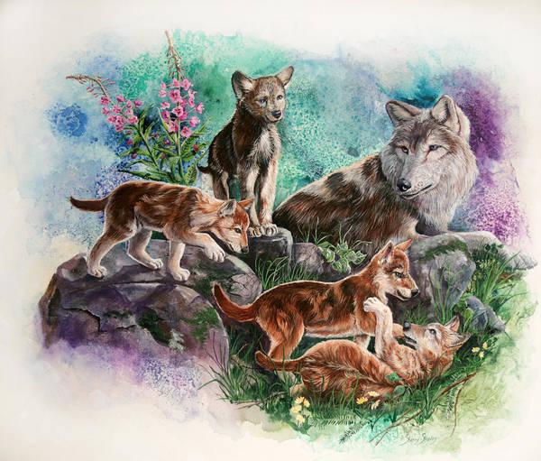 Mixed Media - Family Time by Sherry Shipley