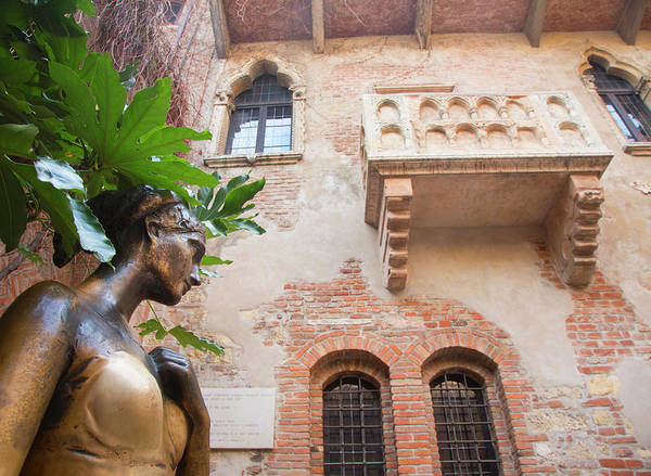Romeo And Juliet Wall Art - Photograph - Famous Balcony by Grant Faint