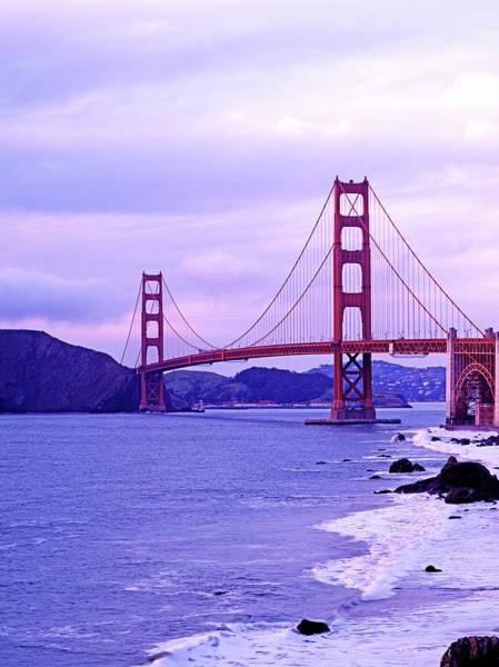 Surf City Usa Photograph - Famous Suspension Bridge by Murat Taner