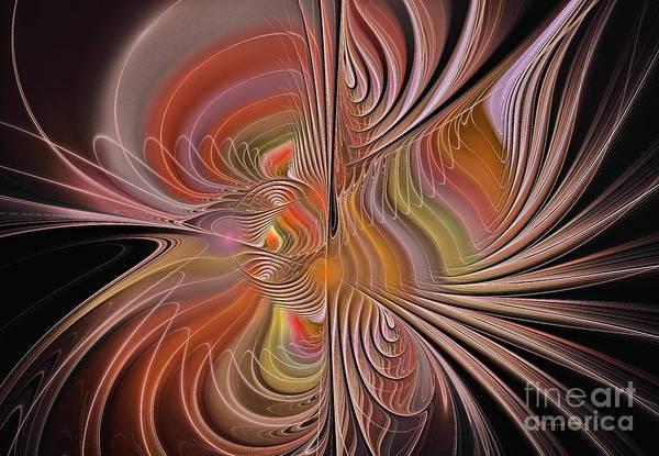 Digital Art - Fan Of Color by Deborah Benoit