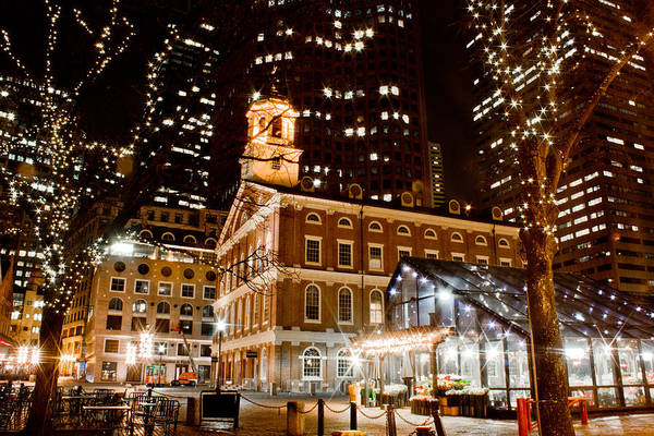 Faneuil Hall Boston Ma  Art Print