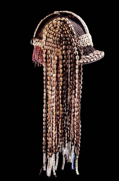 Headdress Photograph - Fang Headdress by Patrick Landmann/science Photo Library