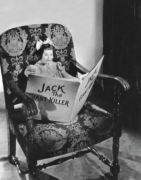 Fanny Photograph - Fanny Brice As Baby Snooks by Willinger