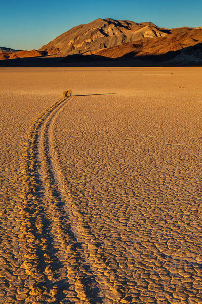 Racetrack Playa Photograph - Fantastic Voyage  by James Marvin Phelps