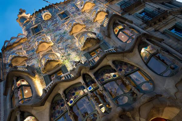 Photograph - Fantastical Casa Batllo - Antoni Gaudi Barcelona by Georgia Mizuleva