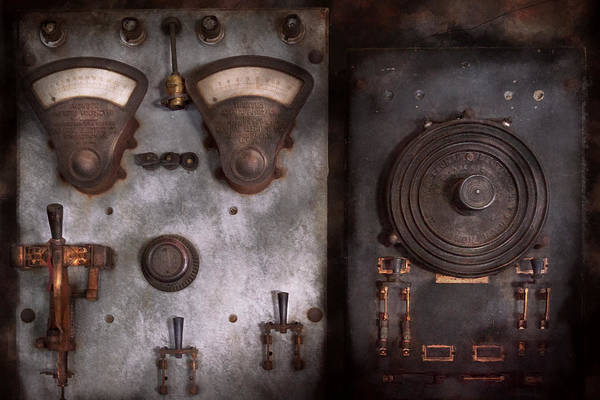 Wall Art - Photograph - Fantasy - A Tribute To Steampunk by Mike Savad