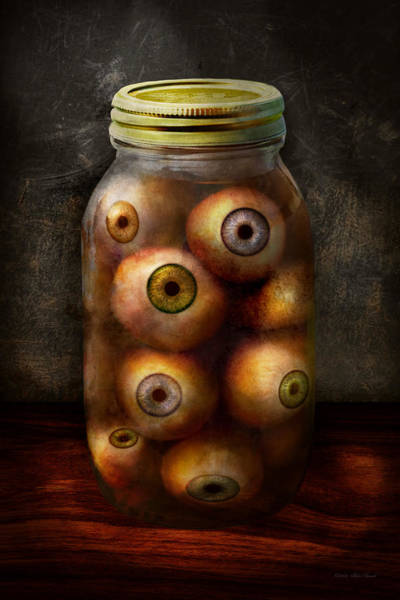 Digital Art - Fantasy - Creepy - I've Always Had Eyes For You by Mike Savad