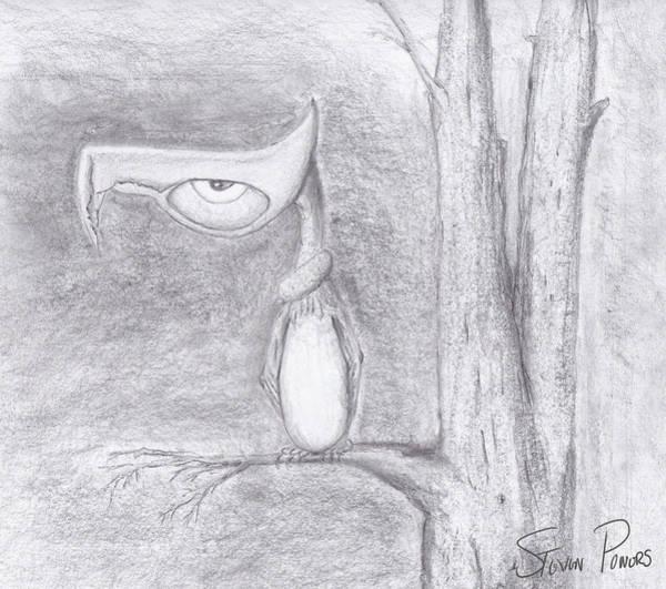 Fantasy Crow Art Print