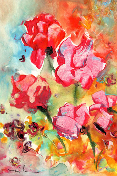 Painting - Fantasy Flowers 14 by Miki De Goodaboom