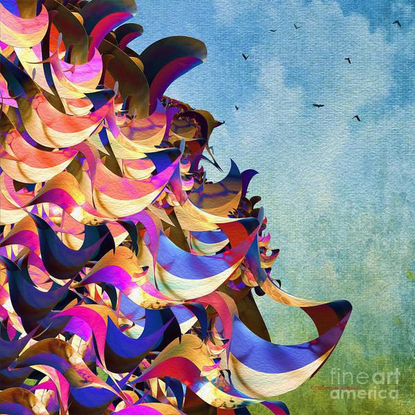 Digital Art - Fantasy Fun And Whimsical by Deborah Benoit