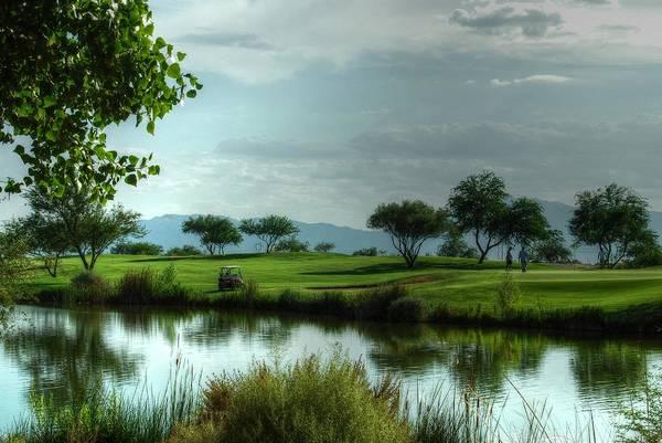 Photograph - Fantasy Golf Course by Tam Ryan