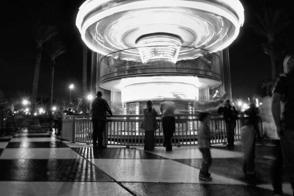 Carousel Digital Art - Fantasy Ride by Linda Unger