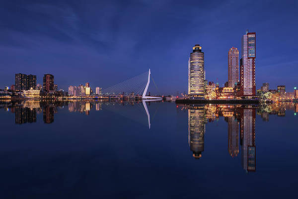 Wall Art - Photograph - Fantasy Rotterdam by Juan Pablo De