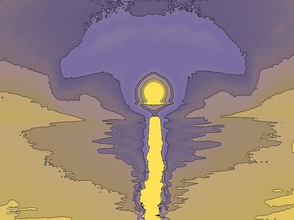 Digital Art - Fantasy Sunset by Augusta Stylianou