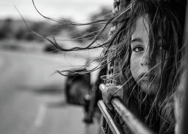 Kid Photograph - Far Away From Home by Tomasz Solinski