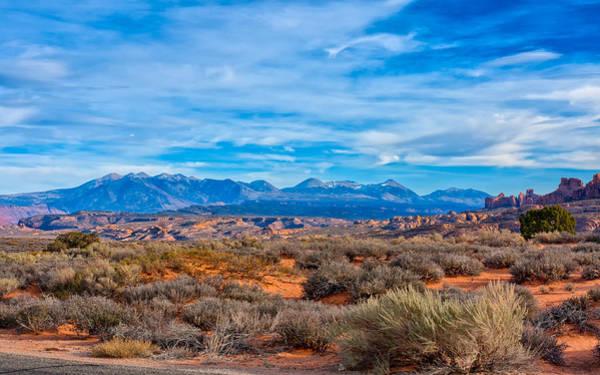 Photograph - Far Horizon At Arches by John M Bailey