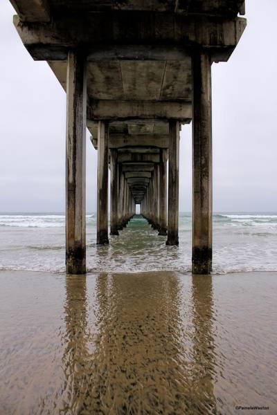 Scripps Pier Photograph - Far Horizons by Pamela Astrogypsies