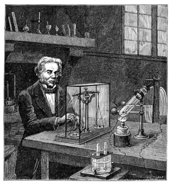 Electrolysis Wall Art - Photograph - Faraday's Electrolysis Experiment by Science Photo Library