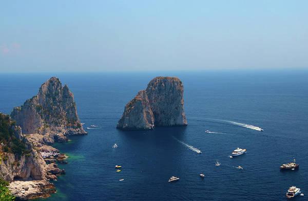 Capri Photograph - Faraglioni Rocks Of Capri Island Capri by Dragos Cosmin Photos