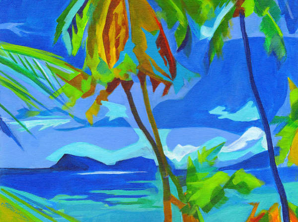 Painting - Dream Islands. Maui by Tanya Filichkin