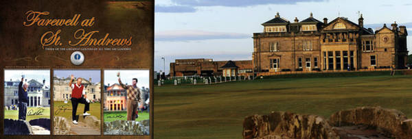 Golf Green Photograph - Farewell At St. Andrews by Retro Images Archive