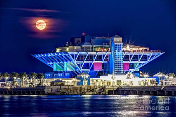Moon Light Photograph - Farewell Moon by Marvin Spates