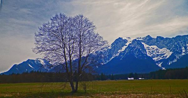 Shotwell Digital Art - Farm At Whitehorse Mountain by Seth Shotwell